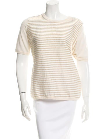 Lela Rose Wool & Silk-Blend Top w/ Tags None