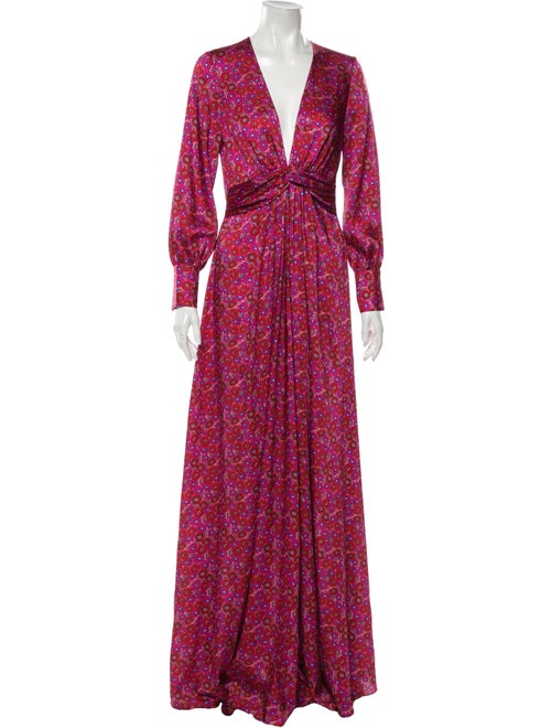 Lela Rose 2019 Long Dress Rose