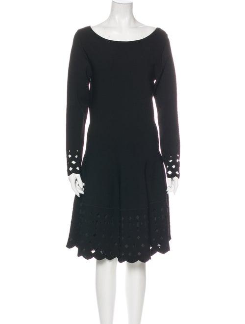 Lela Rose Bateau Neckline Knee-Length Dress w/ Tag
