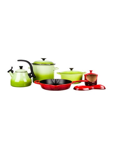 Le Creuset 6-Piece Cookware Set None