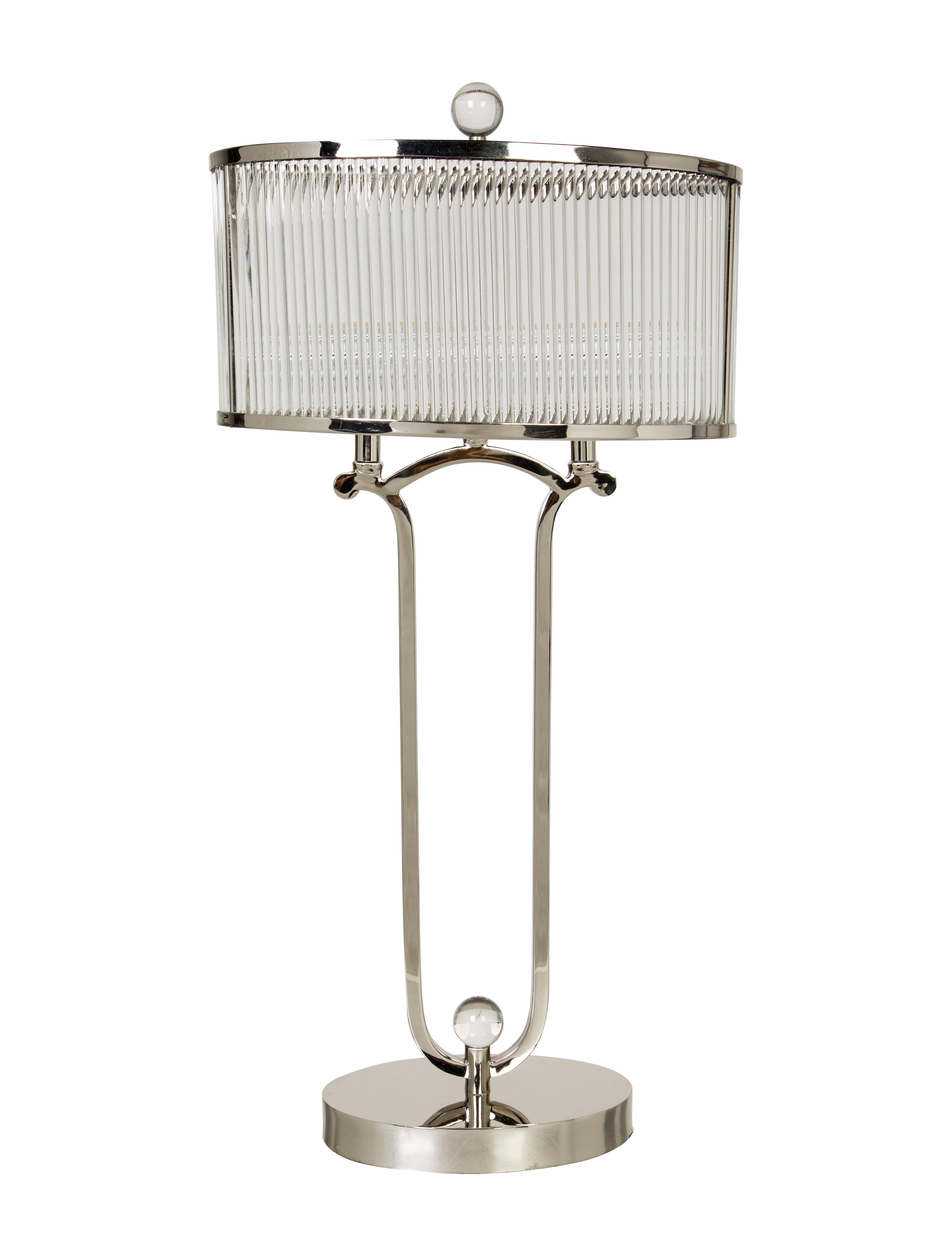 John richard glass table lamp lighting lghti20176 the realreal john richard glass table lamp geotapseo Image collections