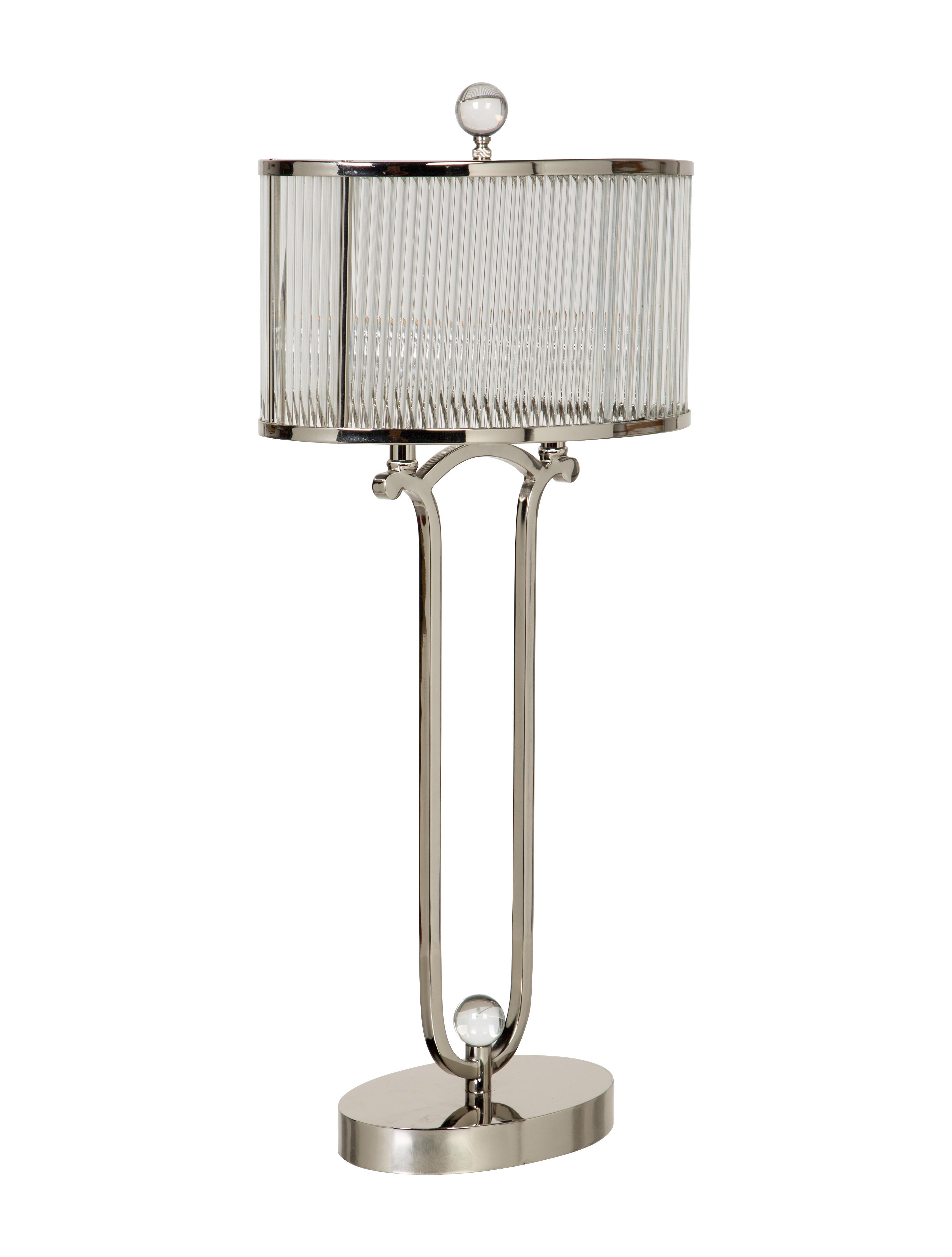 John richard glass table lamp lighting lghti20177 the realreal john richard glass table lamp geotapseo Image collections