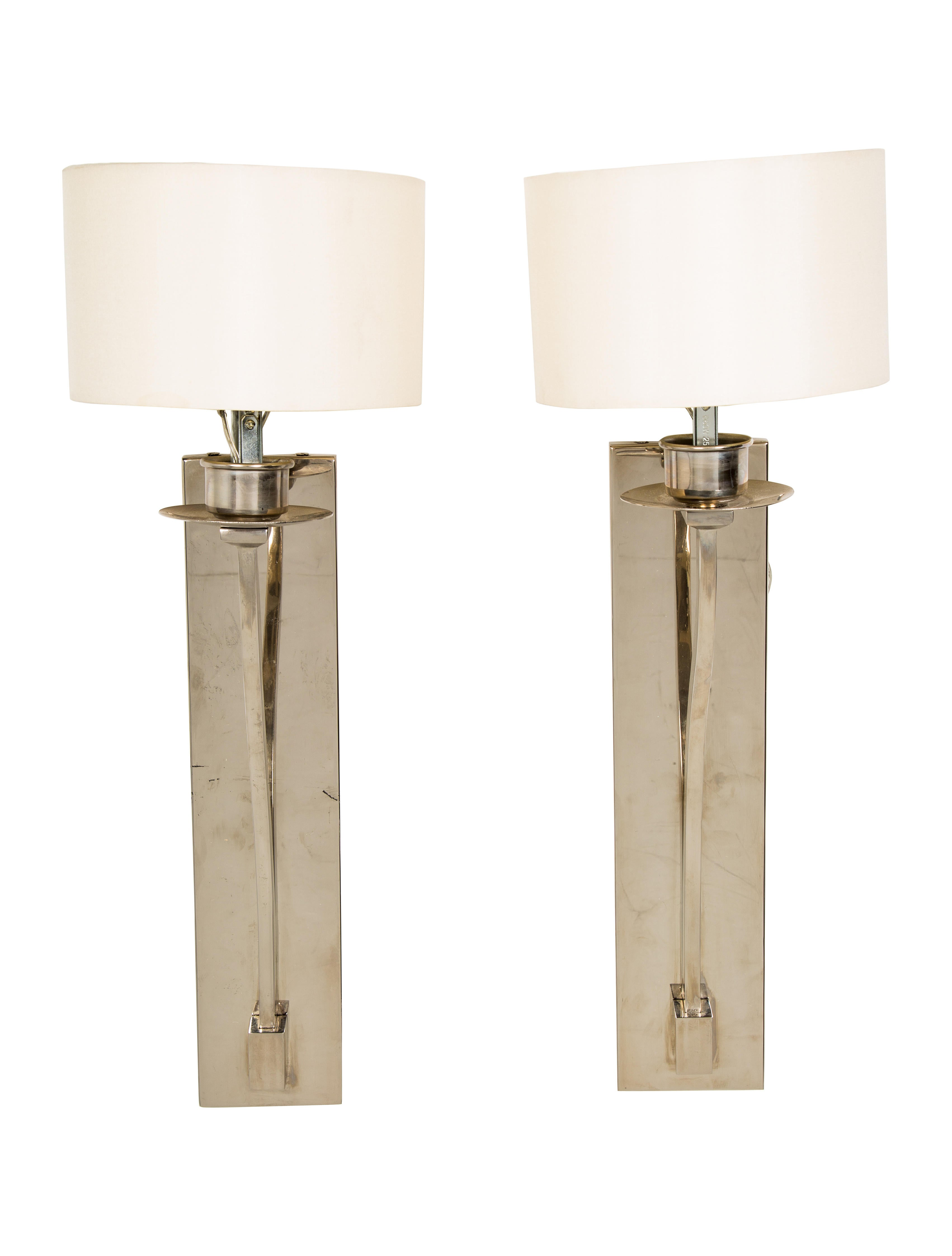 hand visual thomas product rubbed brass paper brien in sconce double np products tob comfort modern shades with vivian related natural antique o