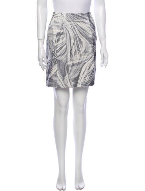 Lida Baday Printed Mini Skirt Blue