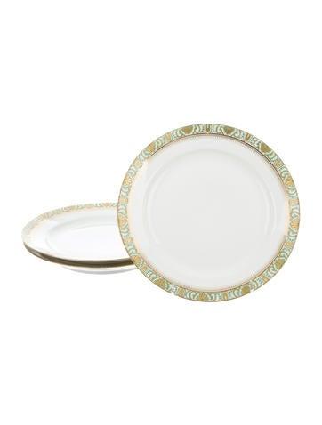 Limoges Salad Plates None