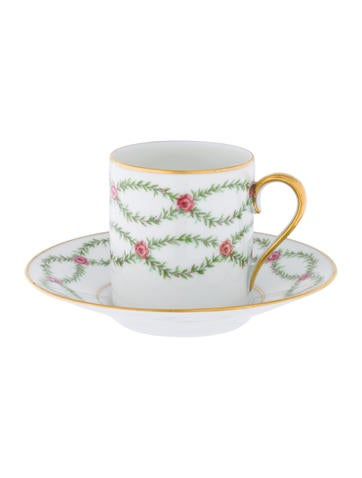 Royal Limoges Demitasse Cup and Saucer None
