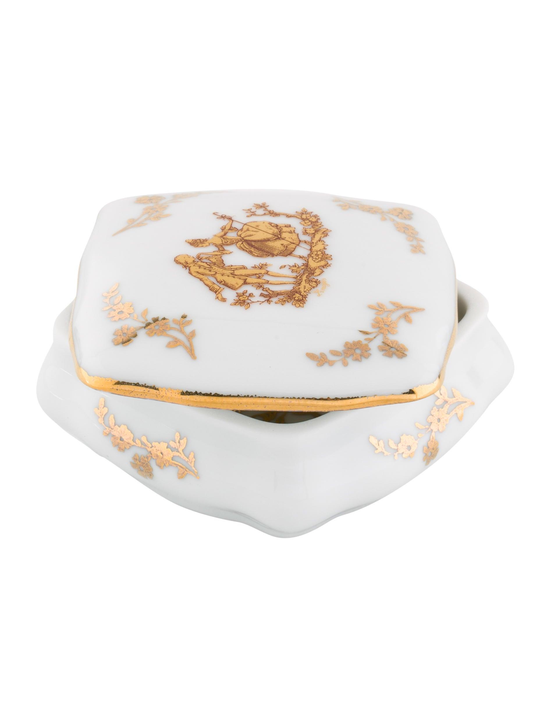 limoges porcelain box decor and accessories lim21162. Black Bedroom Furniture Sets. Home Design Ideas
