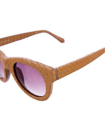 Snakeskin Sunglasses