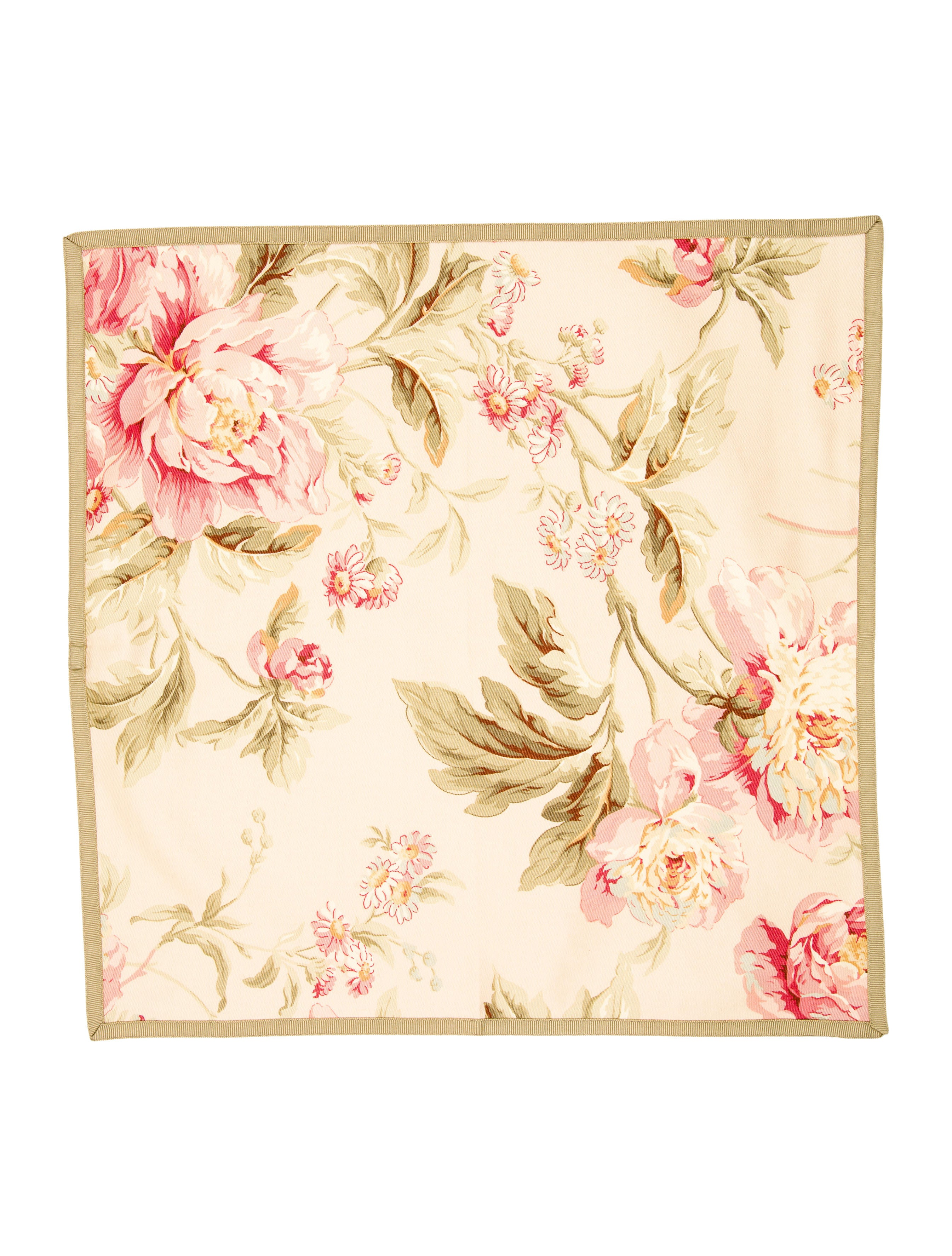 Floral placemats dinner napkins tabletop and kitchen for Table placemats