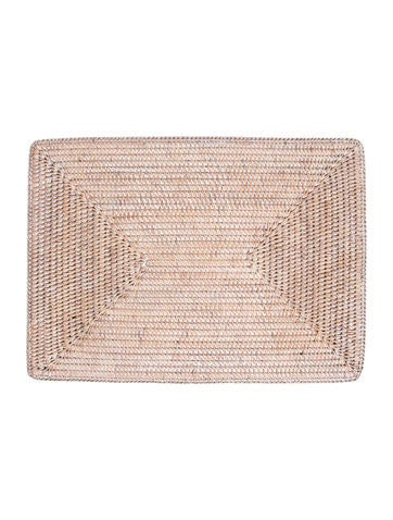 Table Linens Woven Rectangular Placemats Tabletop And