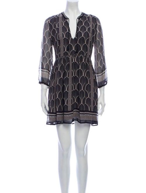 Lolita jaca Silk Mini Dress Black