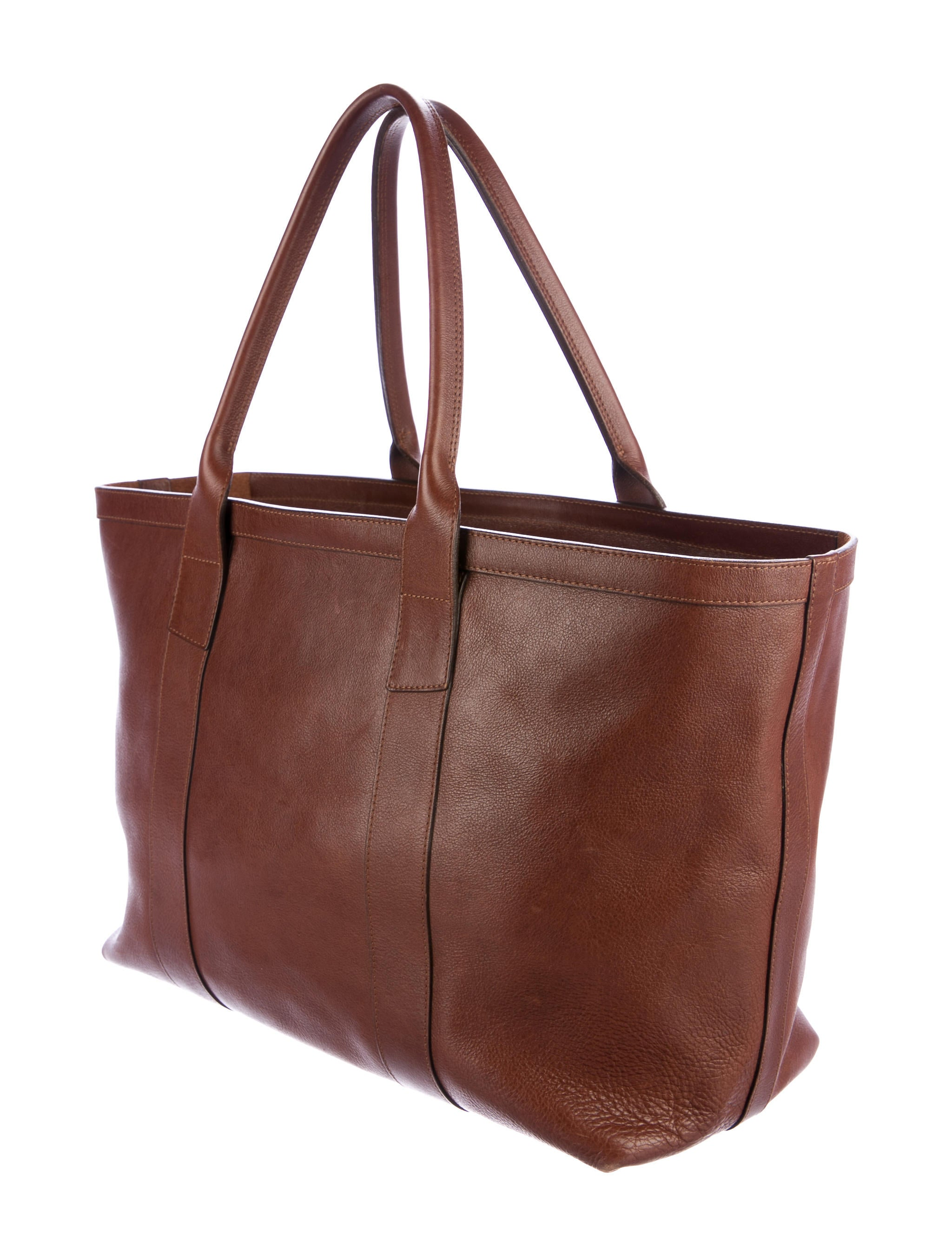 Lotuff Leather Shopper Tote Bag - Bags - LLF20007 | The ...