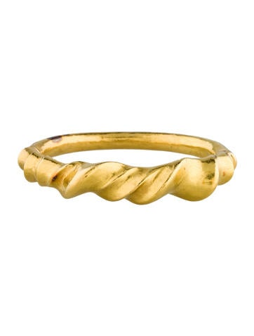 Lalaounis 18K Sculpted Bangle