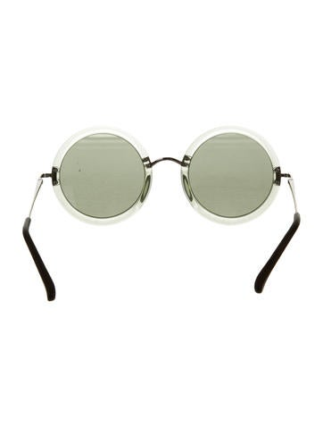 Circular Tinted Sunglasses