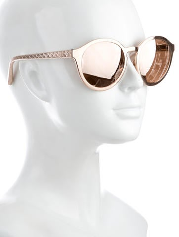 Reflective Oversize Sunglasses