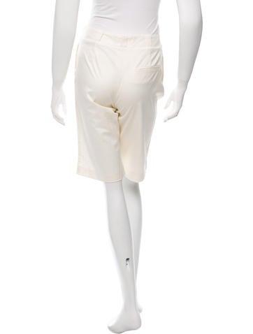 Mid-Rise Knee-Length Shorts