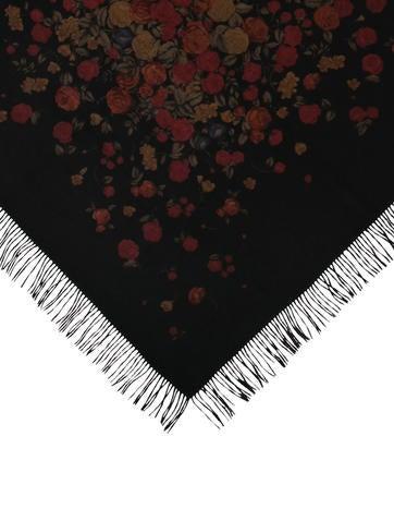 Floral Cashmere Blanket