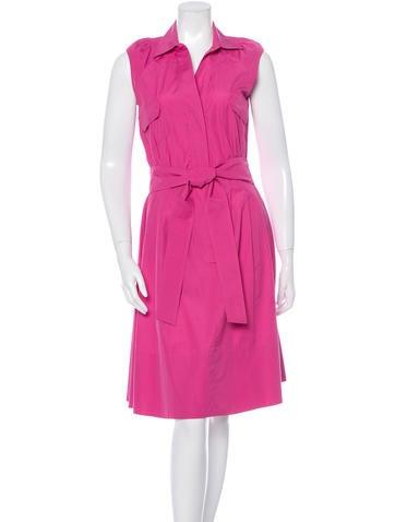 Loro Piana Sleeveless Shirt Dress