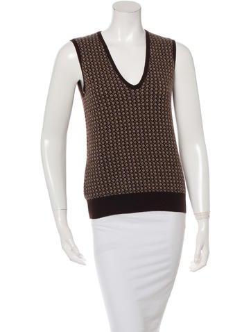 Loro Piana Cashmere Patterned Sweater None