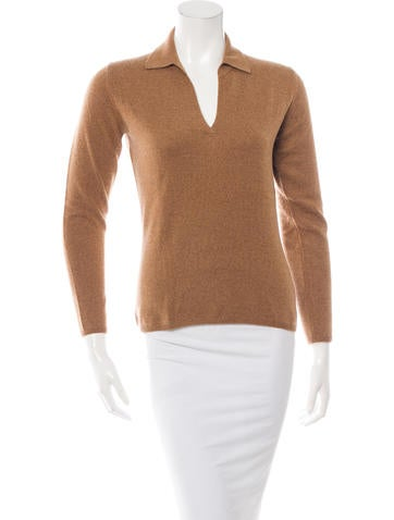 Loro Piana Long Sleeve Cashmere Top None