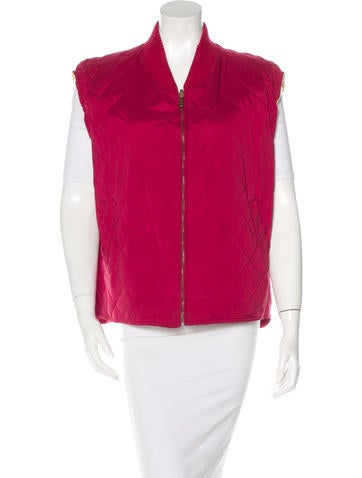 Loro Piana Quilted Vest None