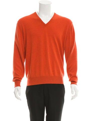 Loro Piana Cashmere V-Neck Sweater None