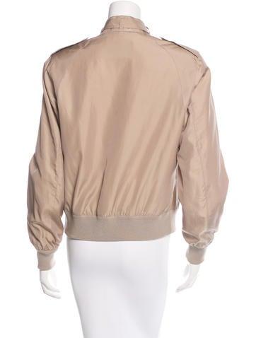 Iridescent Silk Jacket