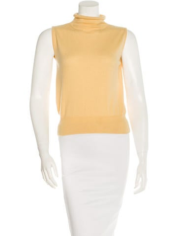 Loro Piana Cashmere-Blend Sleeveless Top None