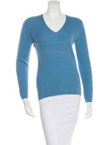 Loro Piana Cable Knit Cashmere Sweater None