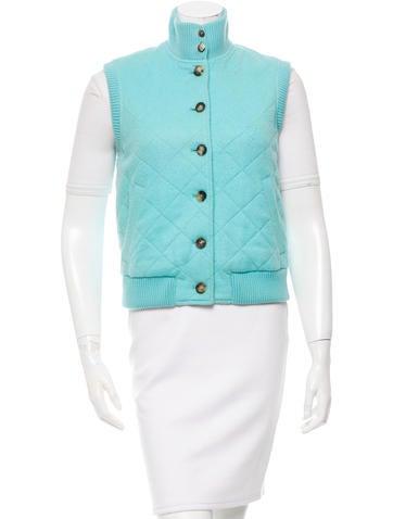 Loro Piana Cashmere Button-Up Vest None