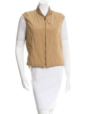 Loro Piana Quilted Puffer Vest None