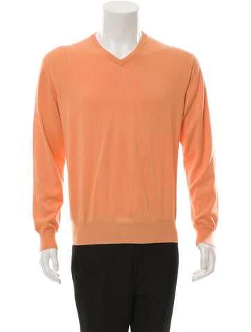 Loro Piana Pullover V-Neck Sweater None