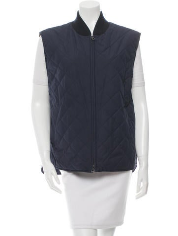 Loro Piana Light-Weight Quilted Vest None