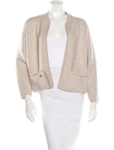 Loro Piana Cashmere Open Front Cardigan None