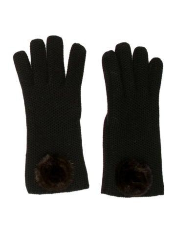 Loro Piana Mink Cashmere Gloves None