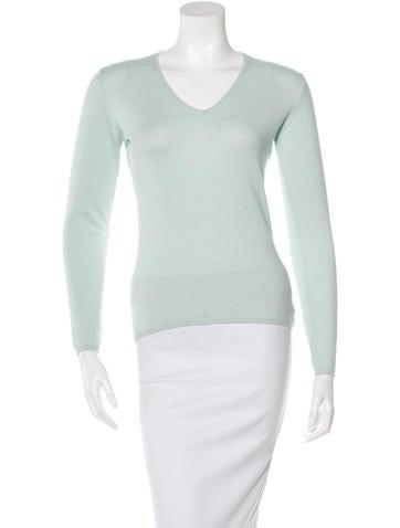 Loro Piana Knit V-Neck Sweater None