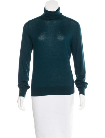 Loro Piana Cashmere Turtleneck Top None