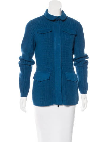 Loro Piana Cashmere-Blend Zip Jacket