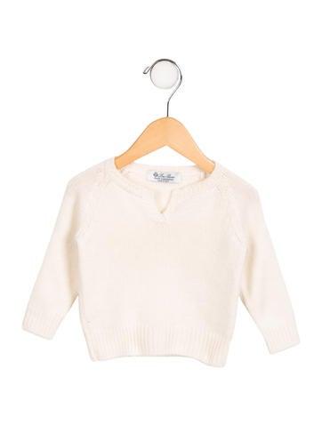 Loro Piana Girls' Cashmere Knit Sweater None