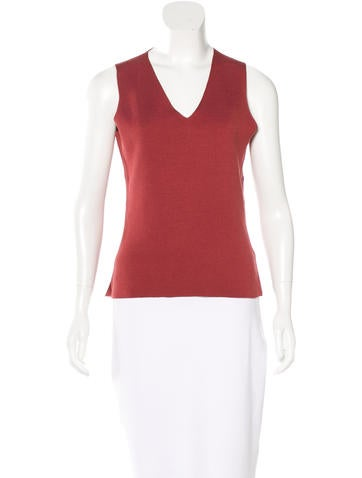 Loro Piana Knit Silk Top None