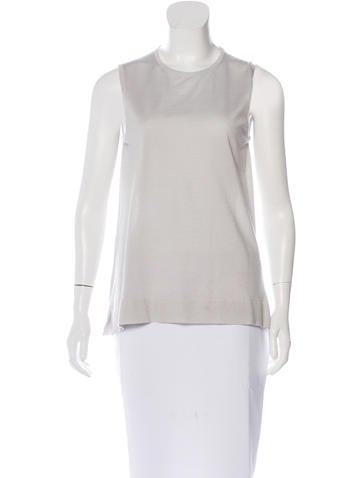 Loro Piana Cashmere & Silk-Blend Top None