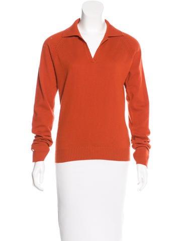 Loro Piana Cashmere Collared Sweater None