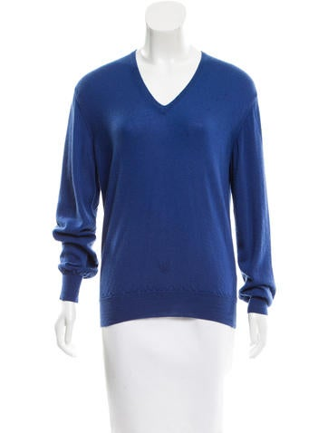 Loro Piana V-Neck Cashmere Top None