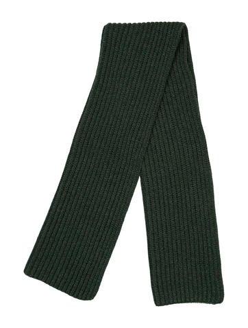 Loro Piana Cashmere Knit Scarf None