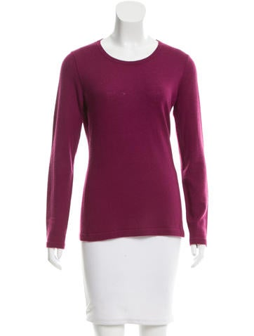 Loro Piana Scoop Neck Cashmere Sweater