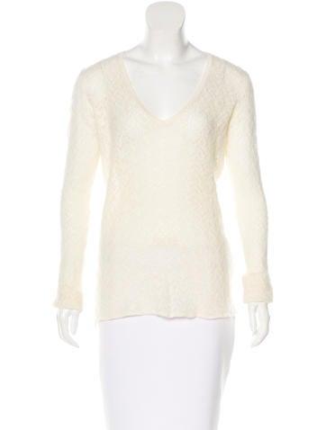 Loro Piana Cashmere Long Sleeve Sweater None