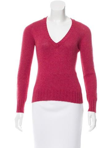 Loro Piana Knit Long Sleeve Sweater None
