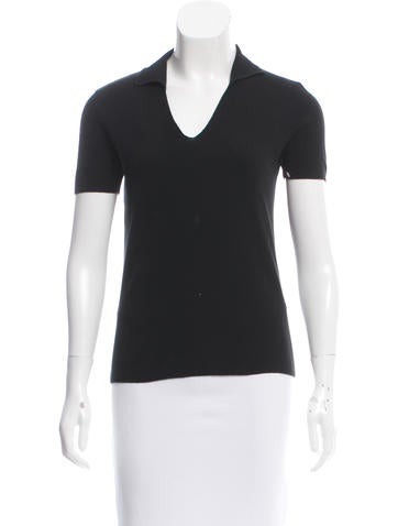 Loro Piana Collared Short Sleeve Top None