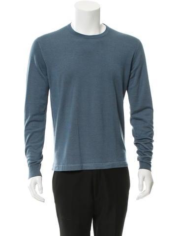 Loro Piana Cashmere & Silk-Blend Sweater None