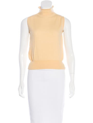 Loro Piana Cashmere Sleeveless Top None
